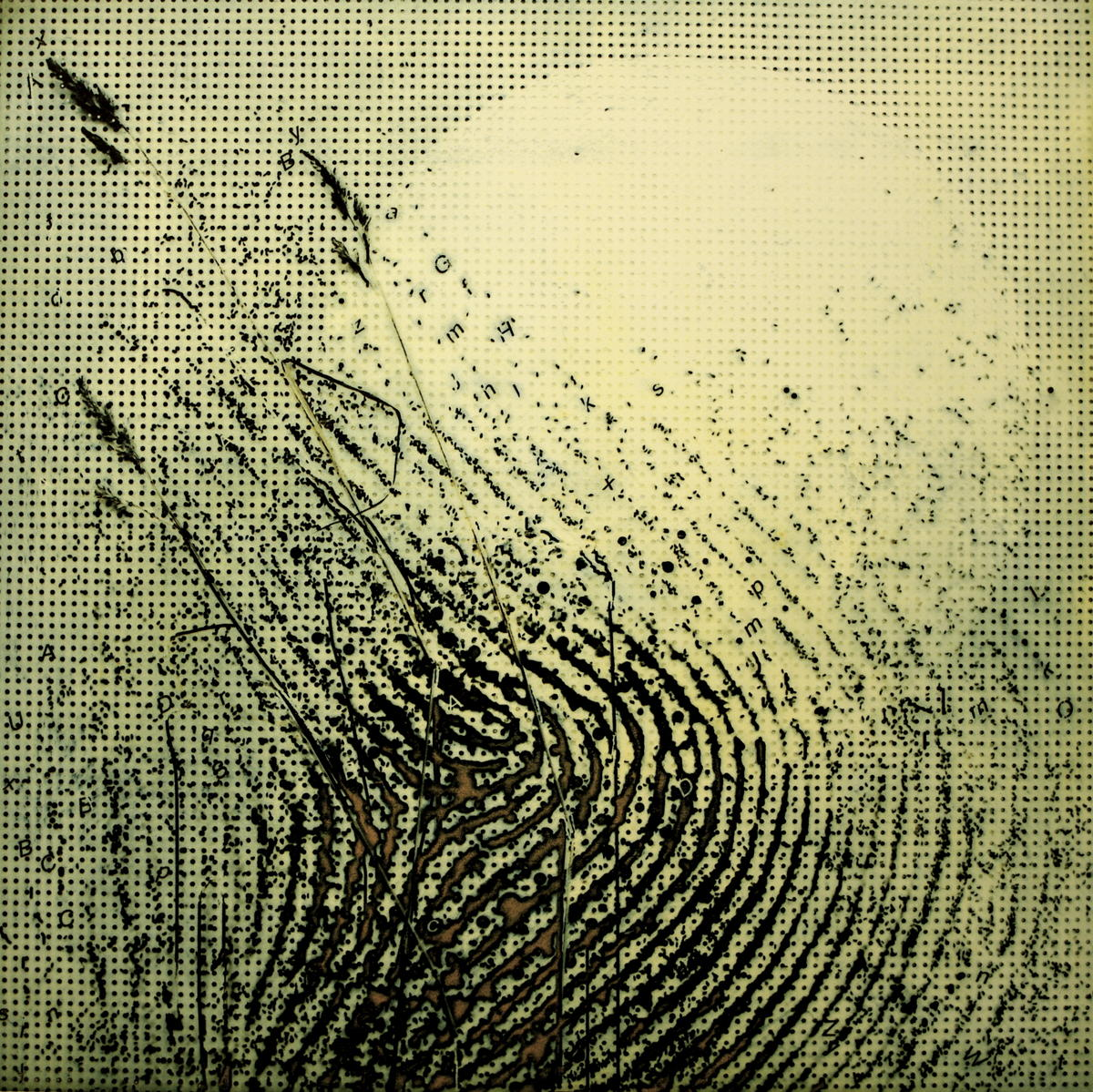 Fra kunstutstillingen «Spor av berøring» av Kjell Bendiksen