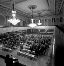 SCA har informationsmöte i Stadshussalongen.