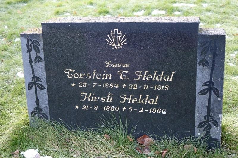 Portrett av lærar Torstein Heldal frå Bø i Telemark