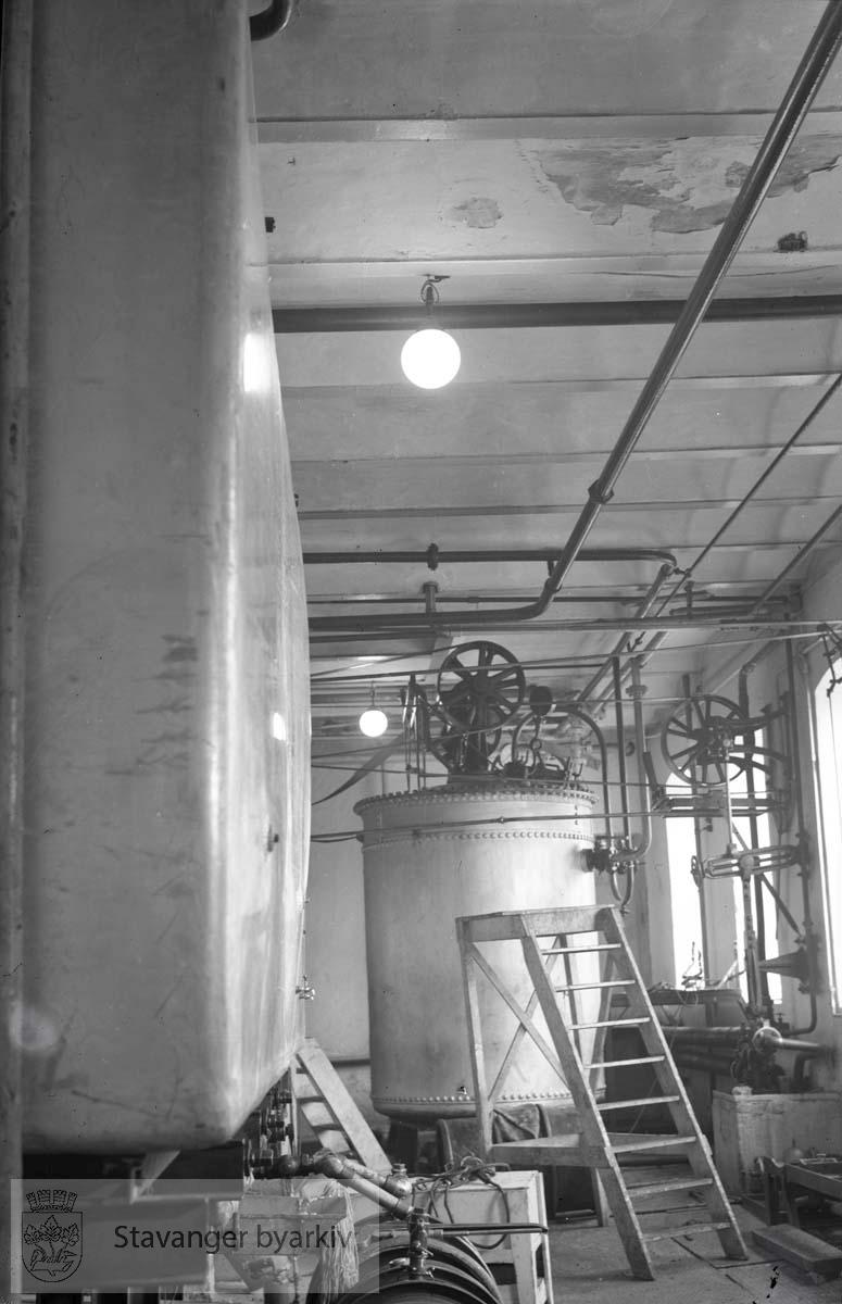 Interiør fra A/S Lilleborg Fabrikker
