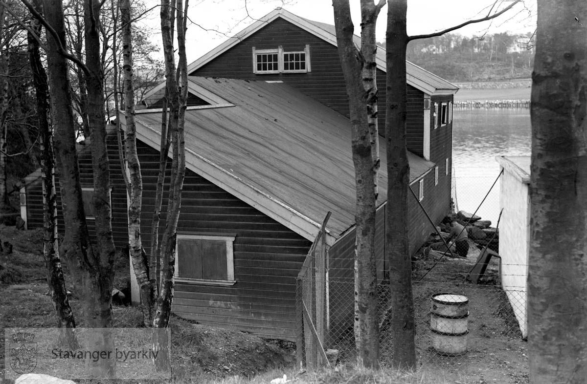 Fra Stavanger roklubb sine lokaler..Hillevågsvatnet eller Ramsvik ?