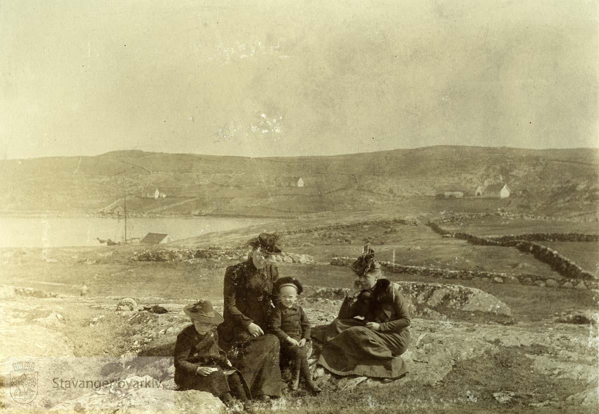 Familien Monsen i Dusavik