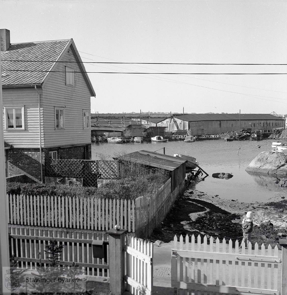 Ulike hus og havnepartier (BySt0443_191-202)