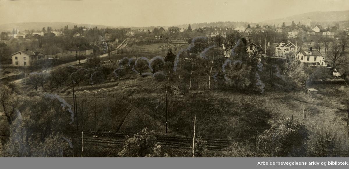 Gaustadhagen. November 1938