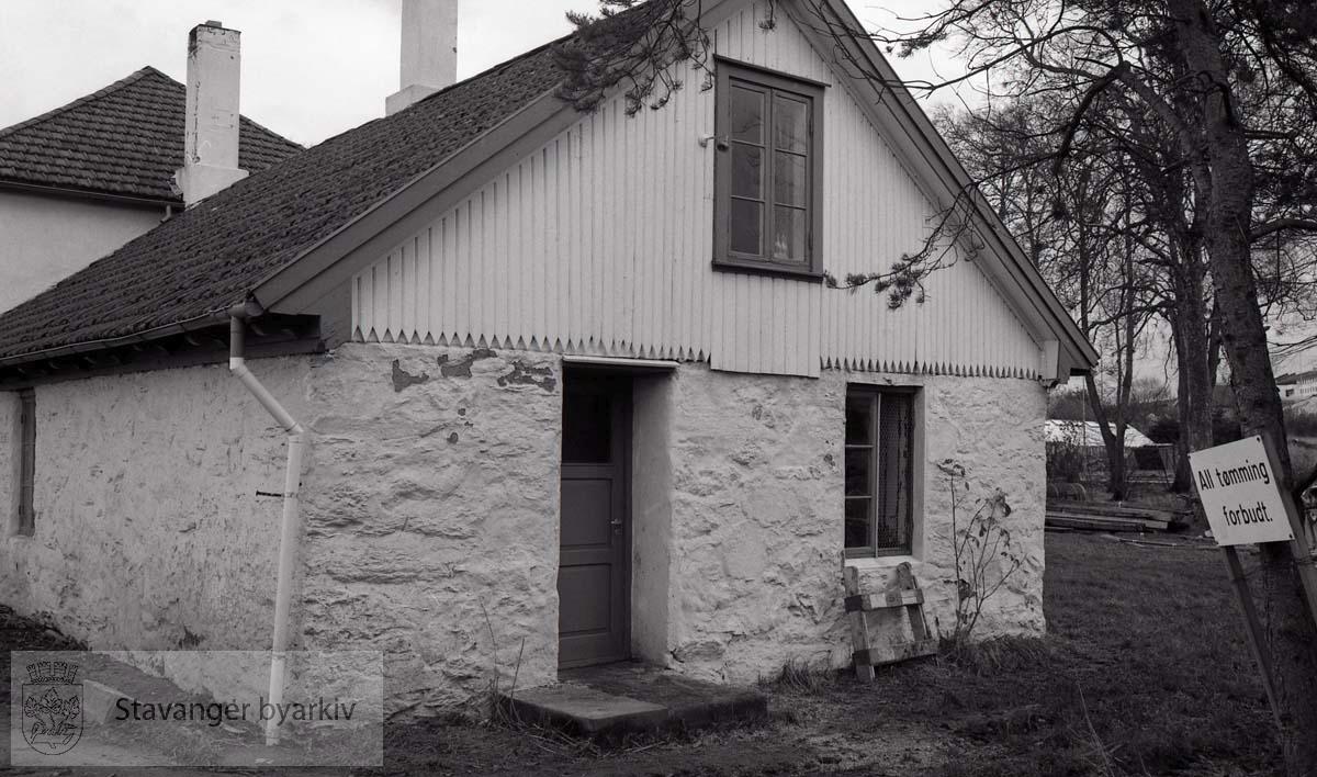 Hansons Minde , hvor Stavanger Idrettsråd holder til i dag.