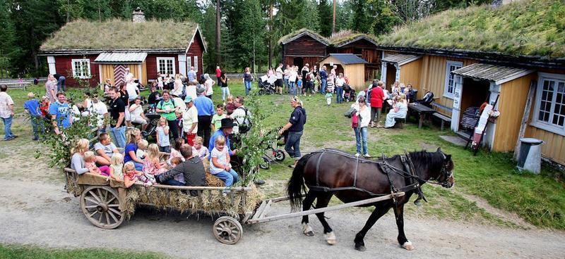 Bilde fra arrangementet 'Liv i stuene' ved Glomdalsmuseet. Foto: Anno Glomdalsmuseet - Emir Curt