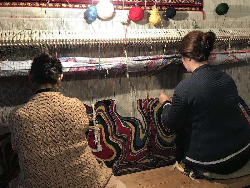 Faig Ahmed's workshop. Image Courtesy of Faig Ahmed Studio.