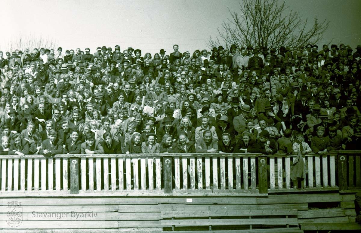 Arrangement på Stavanger stadion.