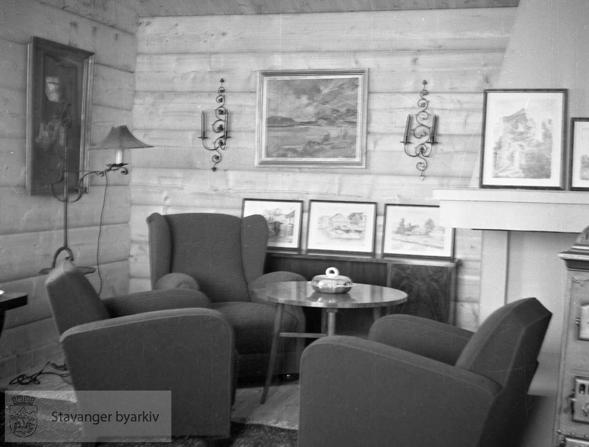 Interiør fra hus eller hytte