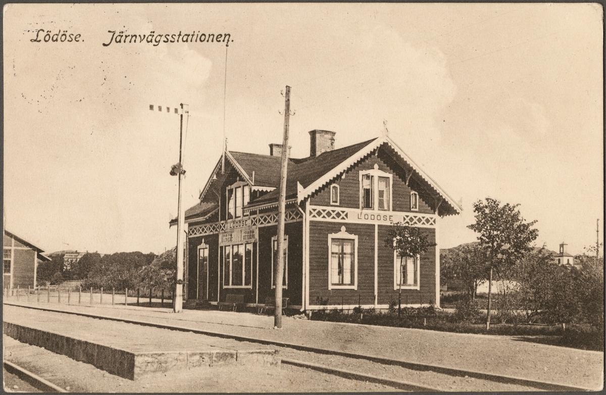 Lödöse station.