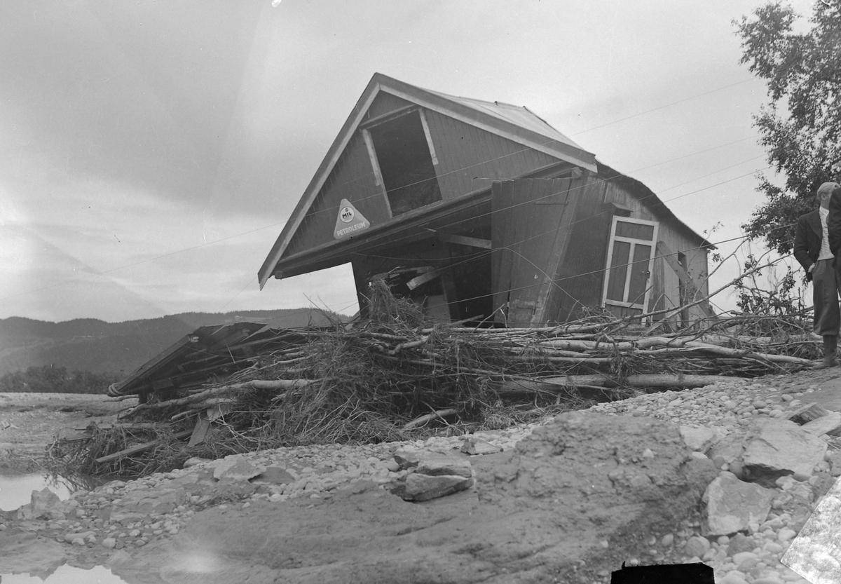 Flommen i Gaula 1940 - Udduvoll