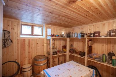 Kjeller i hus fra Olderfjord (Foto/Photo)