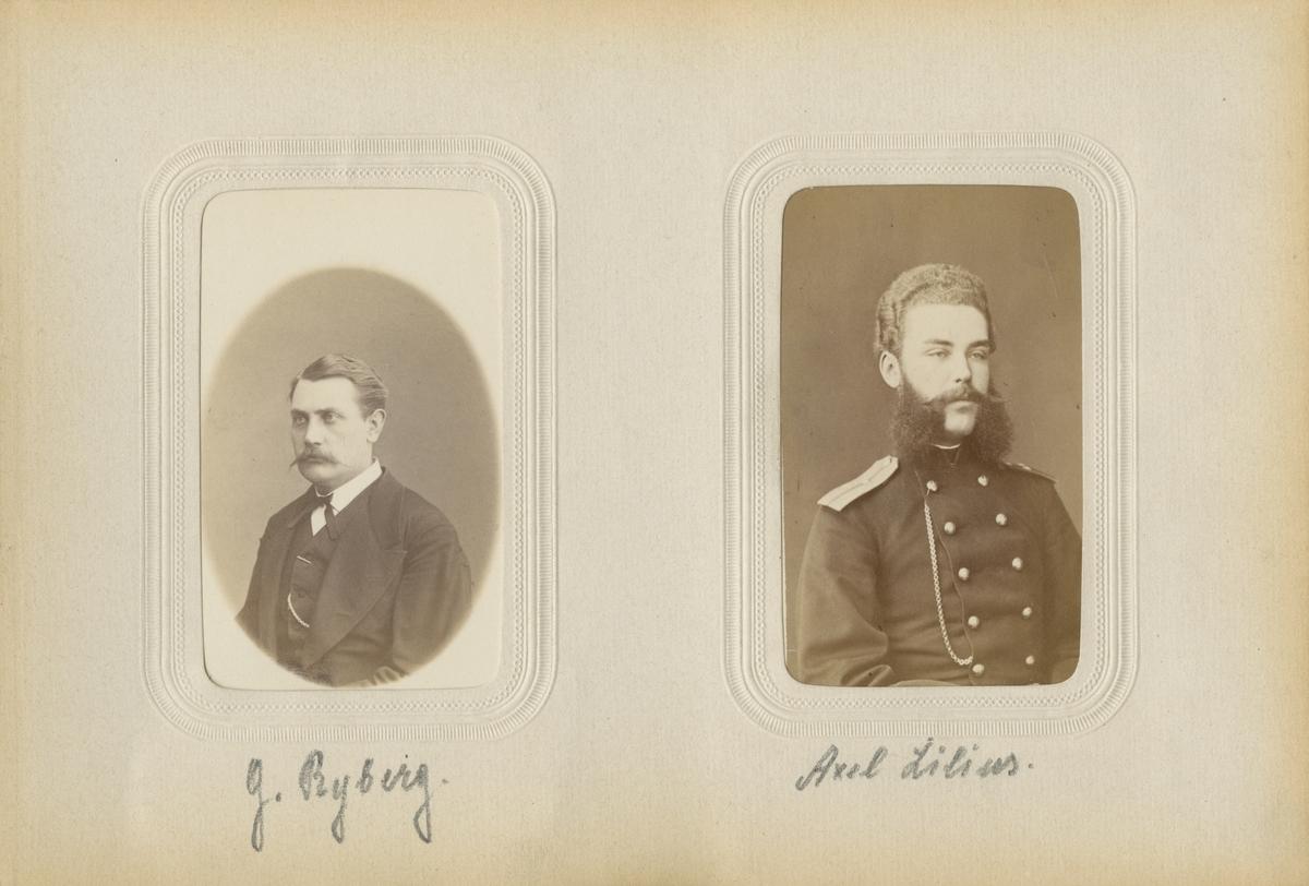 Porträtt av G. Ryberg.