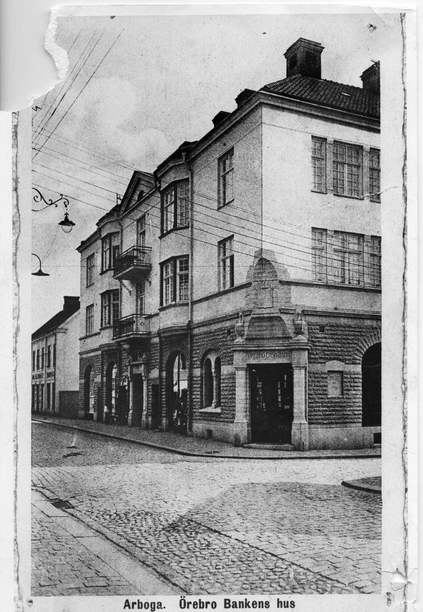 Banken i korsningen Nygatan - Kapellgatan.