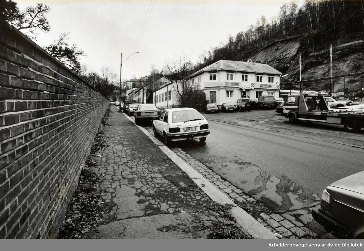 Konows gate. November 1993