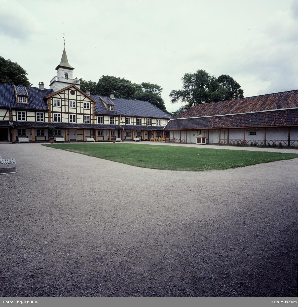 Frogner hovedgård, Oslo Bymuseum, gårdsplass