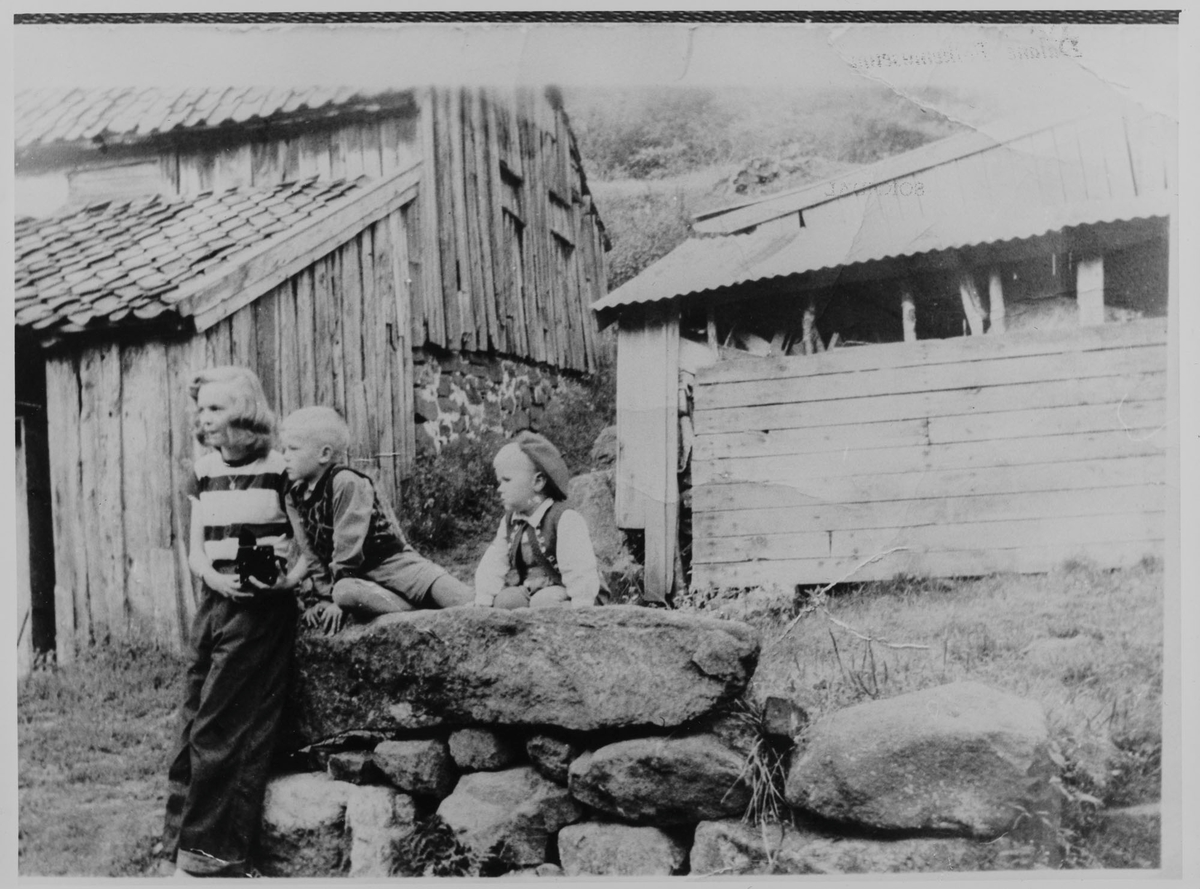 Barn ved Vollen i Sokndal