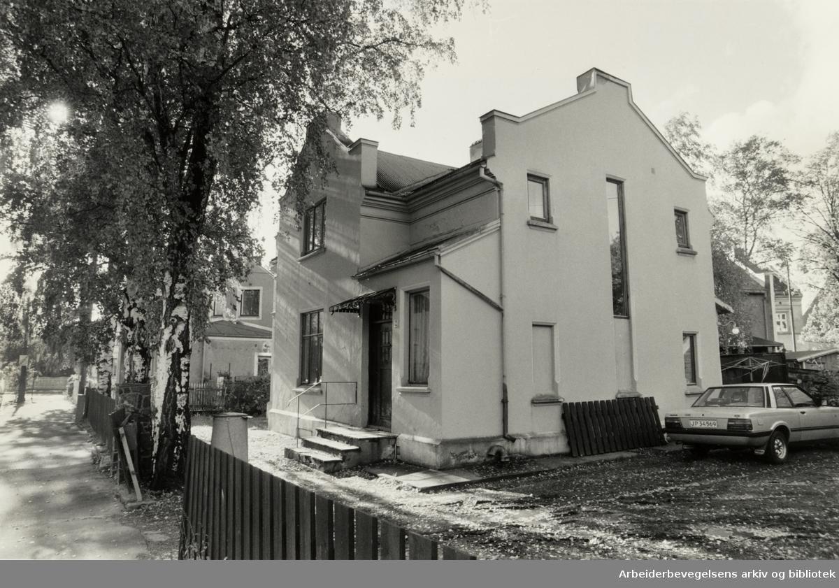 Lovisenberggata 2. Oktober 1987