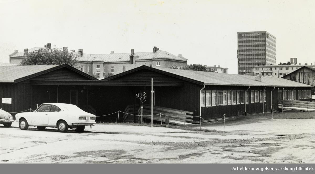 Majorstua Helse- og Sosialsenter. Mai 1975