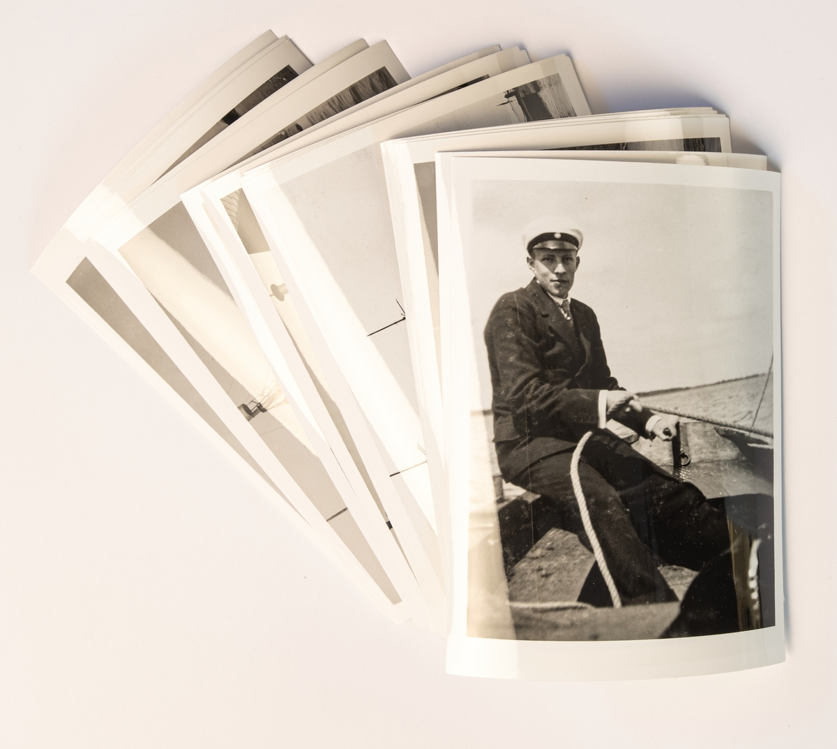 Fotoalbum, S/S Aeolus resa från Narvik till Svalbard.