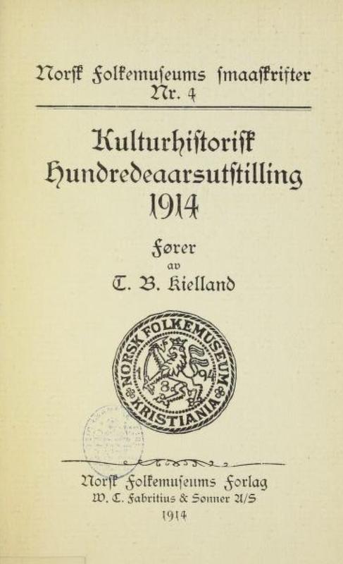 Katalog 1914