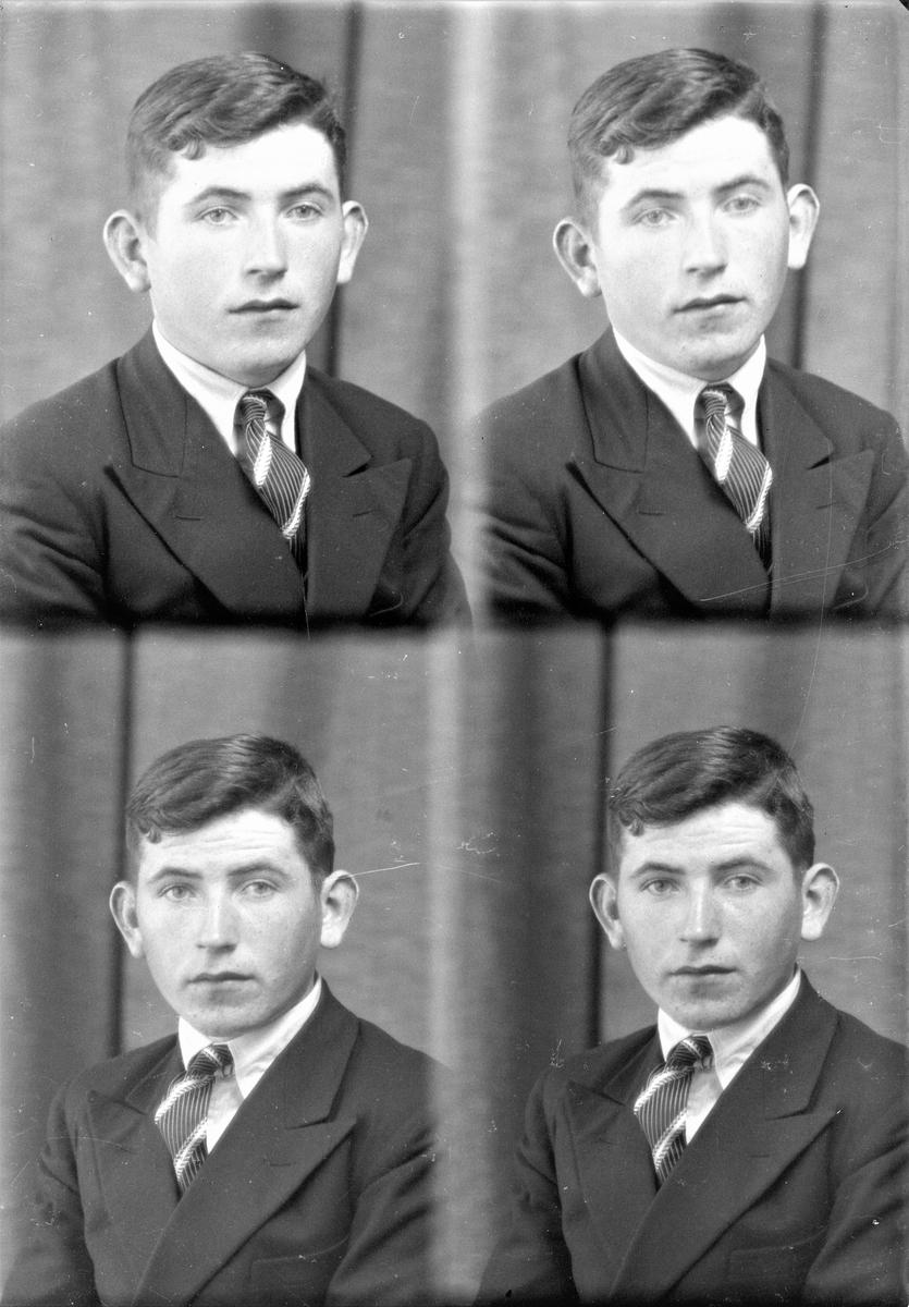 Portrett. Ung mann. Bestilt av Hr. Andreas Kallevik