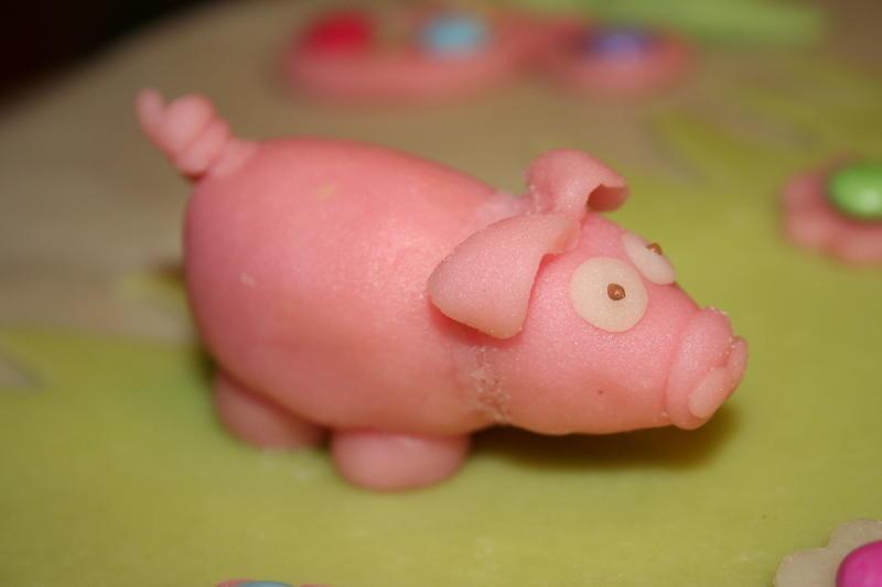 Stakkars gris var snart parat, for å bli julemat. Foto: Pixabay