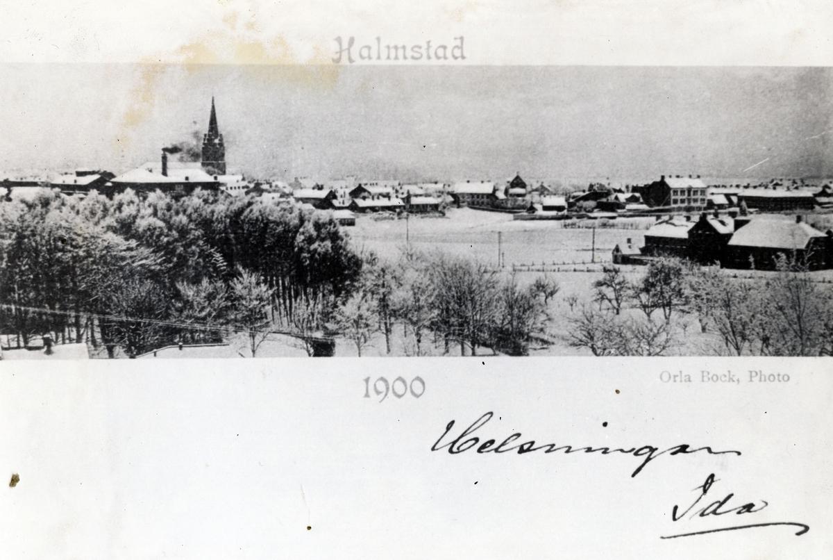 Utsikt från Galgberget.