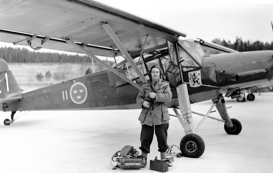 Flygplan, Fieseler Strorch. Erik Sandstedt, A 6.