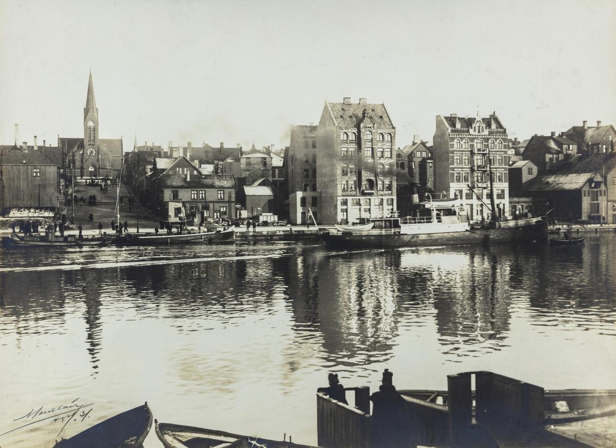 Smedasundet sett mot øst, ca. 1904.