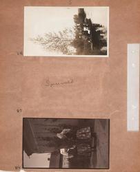 Motiv: Utlandet, Spreewald 92 - 101 ; Kvinnor och män sitte