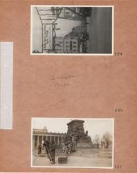 Motiv: Utlandet, Berlin 114 - 146 ; Stadsvy med bilar och f