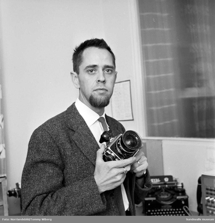 Ragge Ellefsson, fotograf på Norrlandsbild.