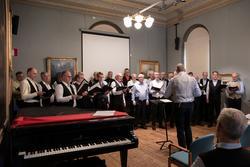 Vänersborgs museum, museets dag 2020. Bellmankonsert med Vän