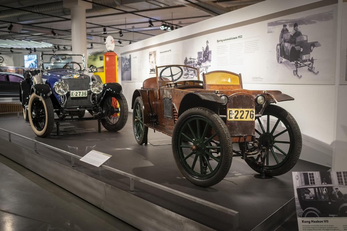 Fra Kjøretøyhistorisk museum. Foto: Morten Reiten (Foto/Photo)