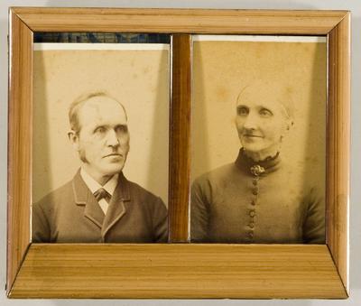 Maja foreldre, Martinius og Johanne Steen. (Foto/Photo)