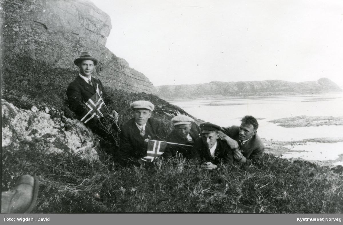 Otto Lillesul, Magne Valø, Arne Kjønsøy, Marius Buøy og Åsmund Valøy