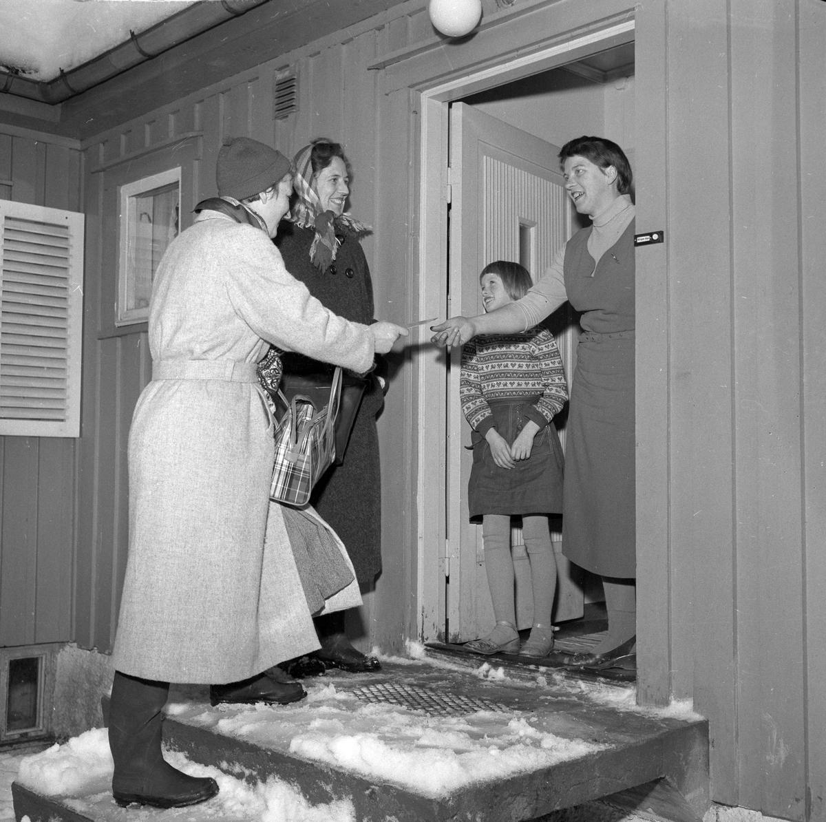 Byåsen sykepleierforening har vervekampanje og juleinnsamling til de gamle på Byåsen