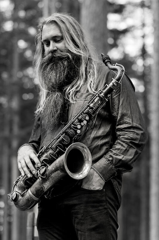 Trygve Seim med saksofonen sin. (Foto/Photo)