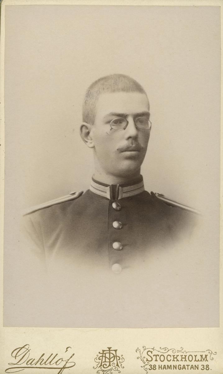 Baron Ivar Fock, född i Hjo 1885, död i Strängnäs 1966.