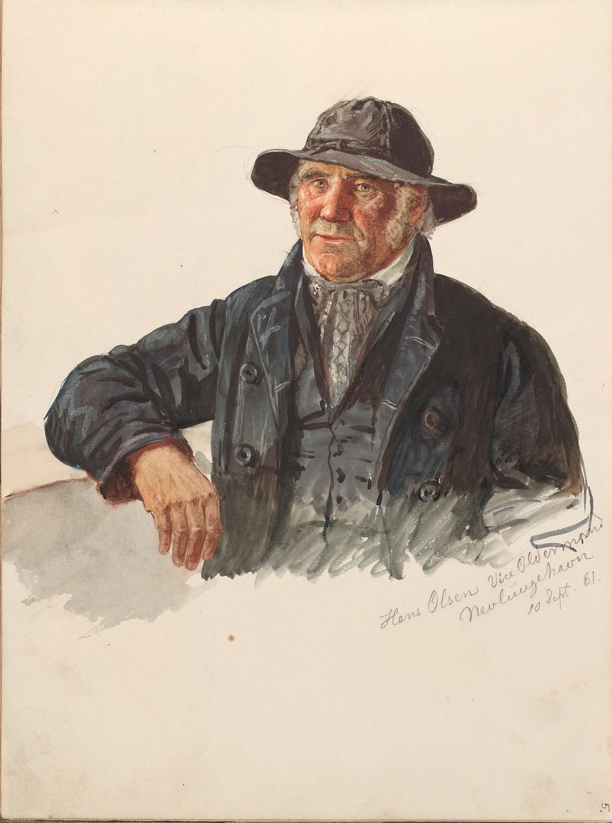 Hans Jacob Olsen, Nevlunghavn [Tegning]