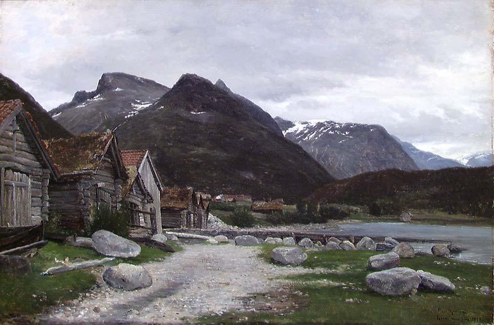 Loen, Nordfjord [Maleri]