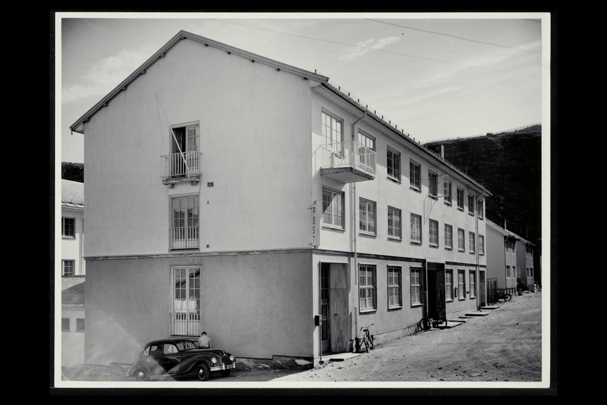 eksteriør, postkontor, 9600 Hammerfest