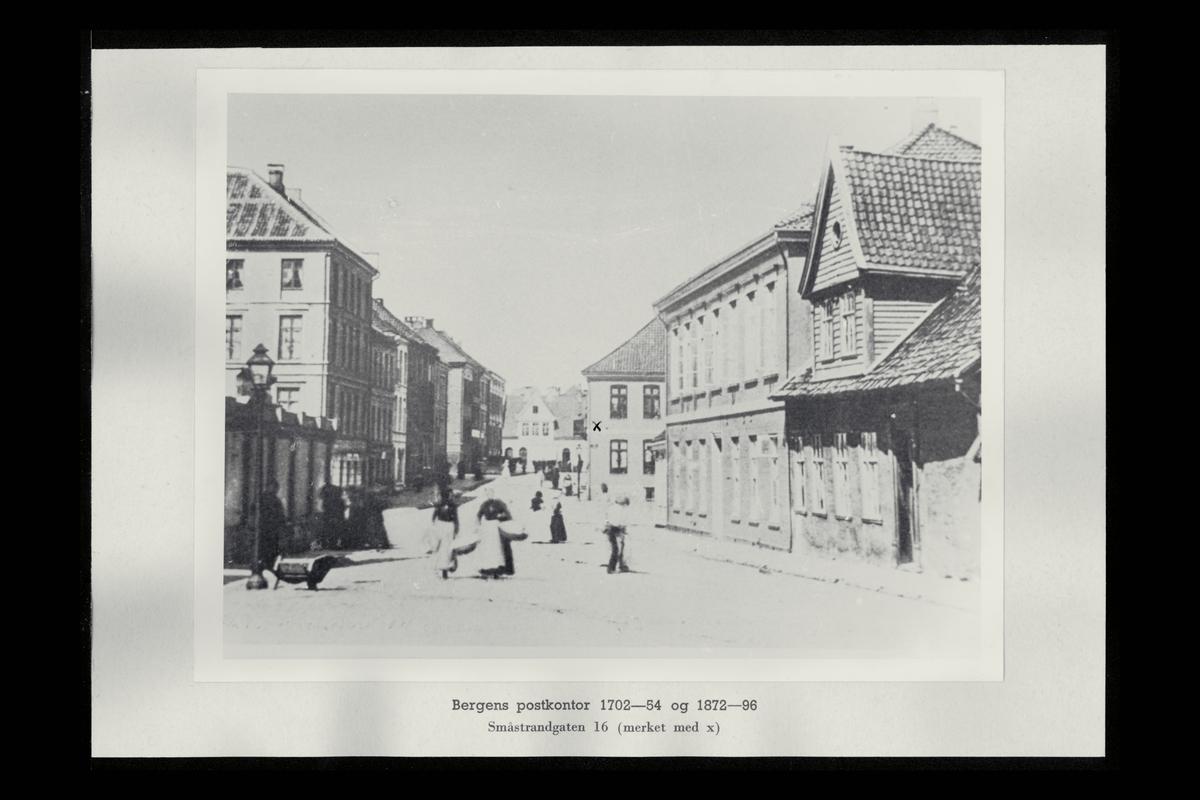 eksteriør, postkontor, 5002 Bergen, Småstrangt. 16, (Skipperhuset)