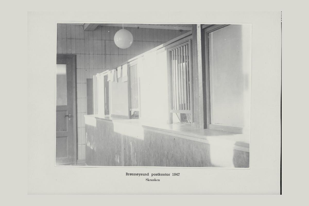 interiør, postkontor, 8300 Brønnøysund, skranke