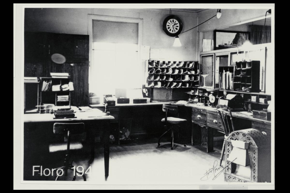 interiør, postkontor, 6900 Florø, ekspedisjon