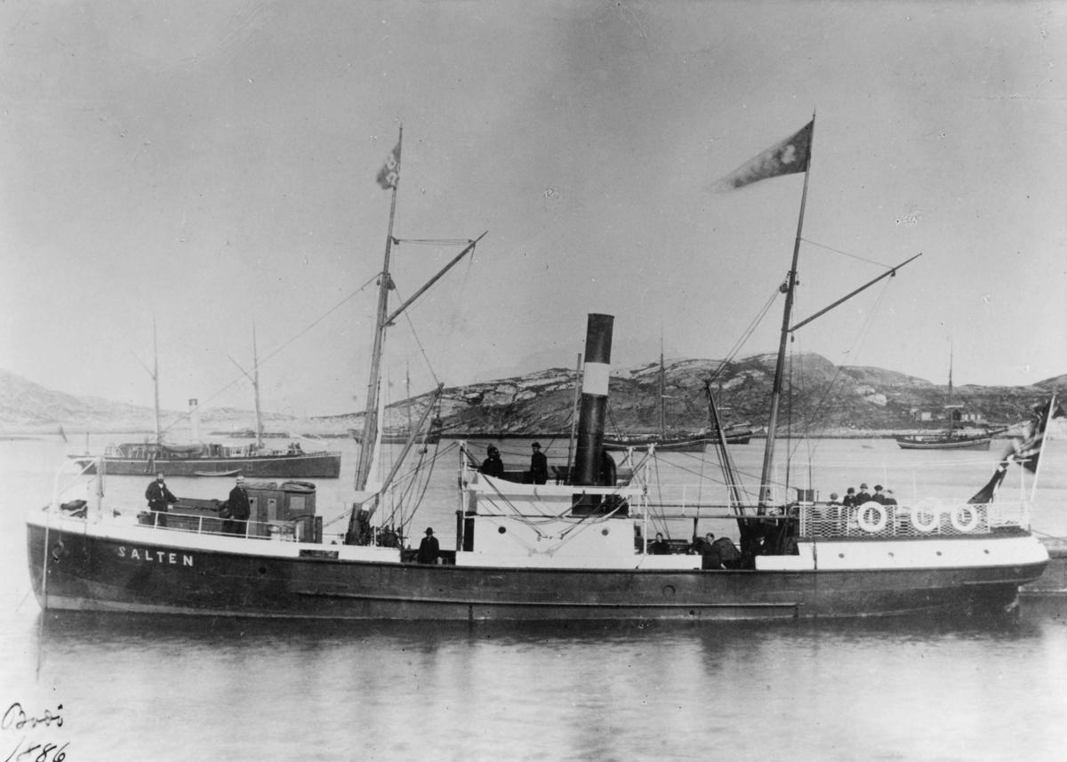 transport båt, eksteriør, D.s Salten