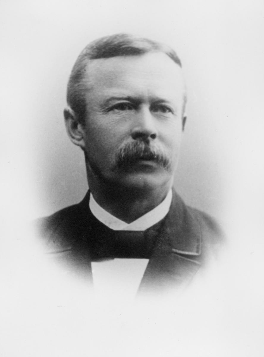portrett, postmester, Alstad, Thomas Olaus