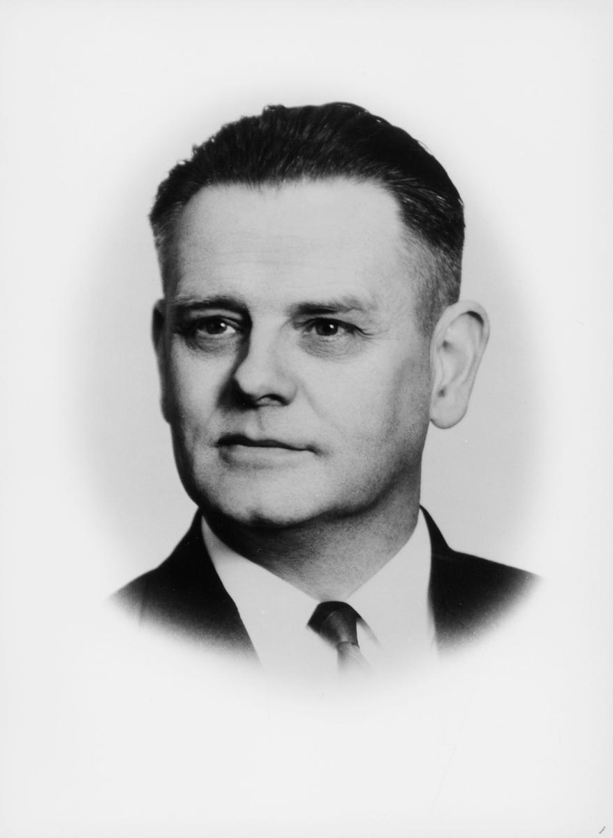 portrett, postmester, Aasheim Magne