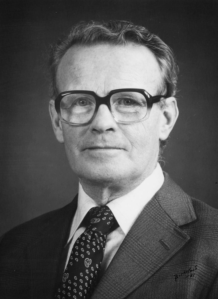 postmester, Danielssen Knud Brodtkorb, portrett